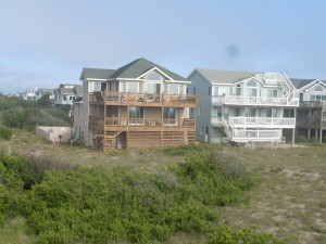 View of Our House From the Beach