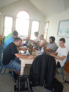 Geeks at the Kitchen Table