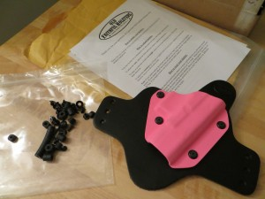 Pink Kydex Old Faithful Holster