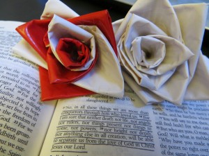Duck Tape Roses and Romans 8:38