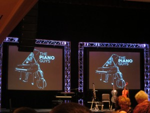 Attended a Piano Guys Concert